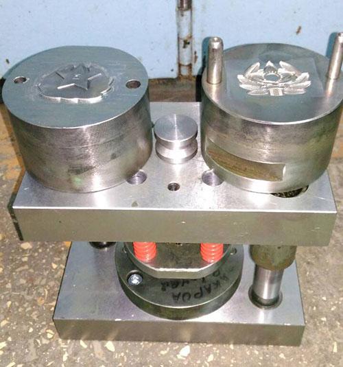 Производство чеканочных штампов на заказ - Инарт